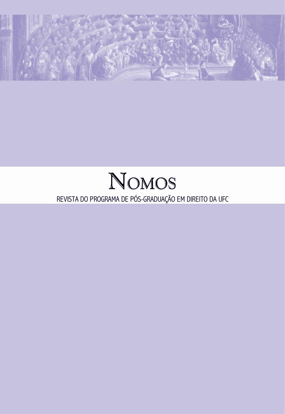 Nomos, volume 36, número 1, janeiro a junho de 2016
