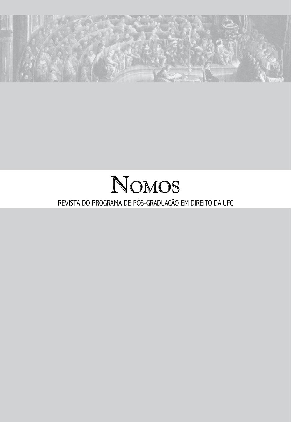 Nomos, volume 32, número 1, janeiro a junho de 2012