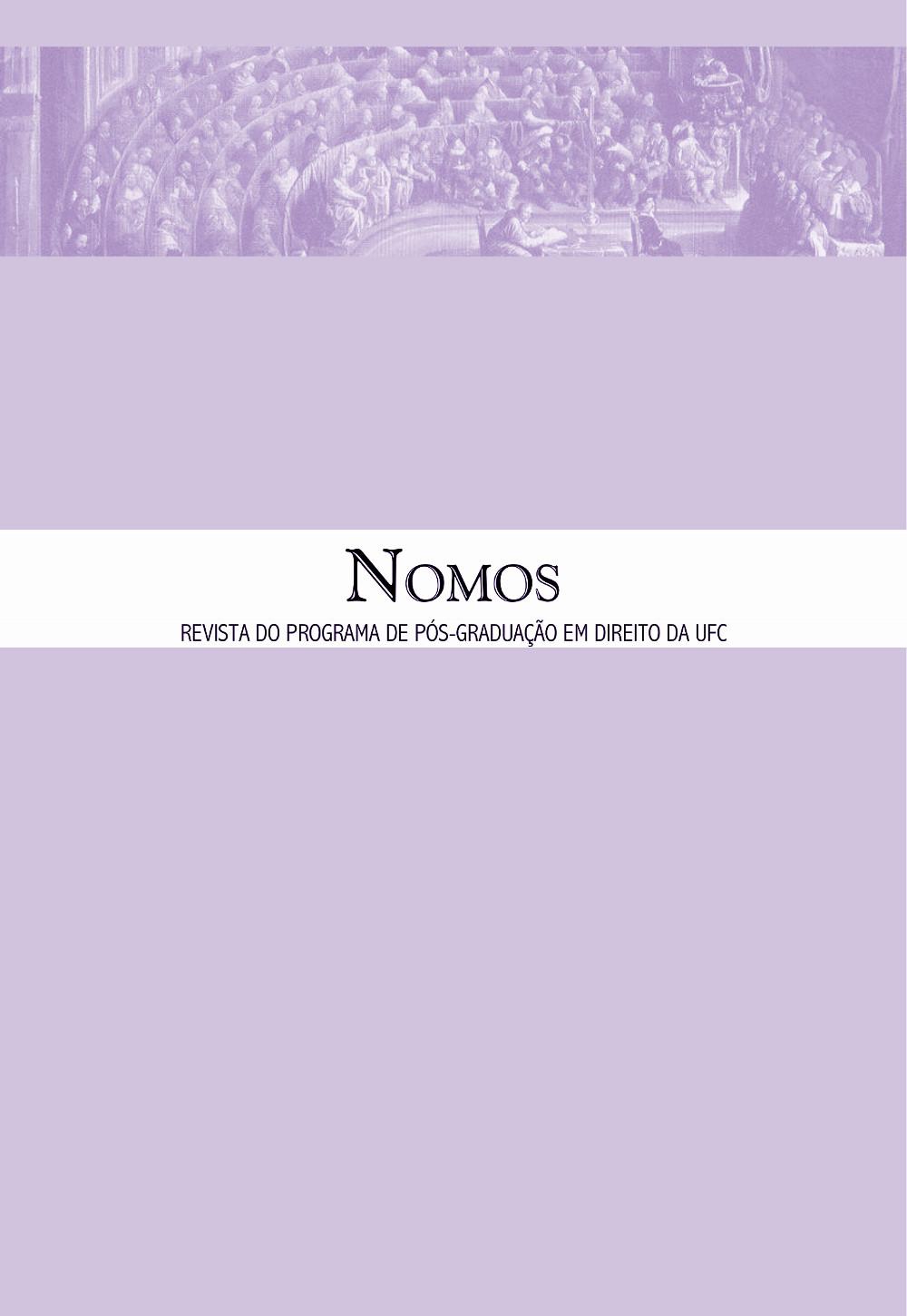Nomos, volume 37, número 1, janeiro a junho de 2017