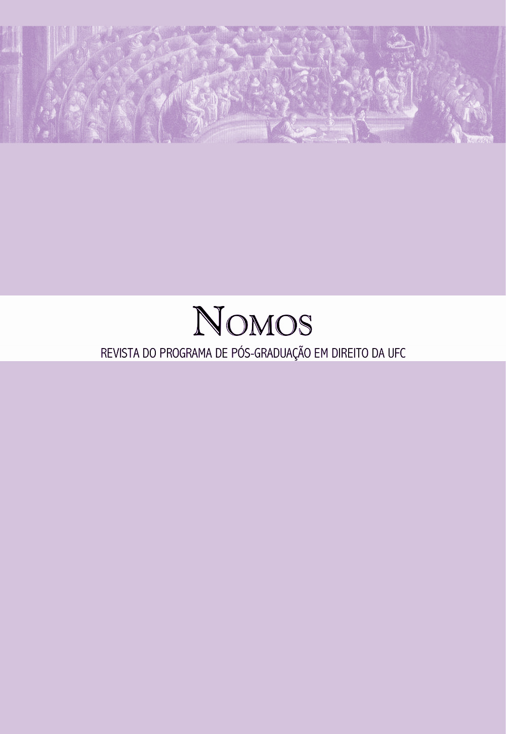 Nomos, volume 37, número 2, julho a dezembro de 2017