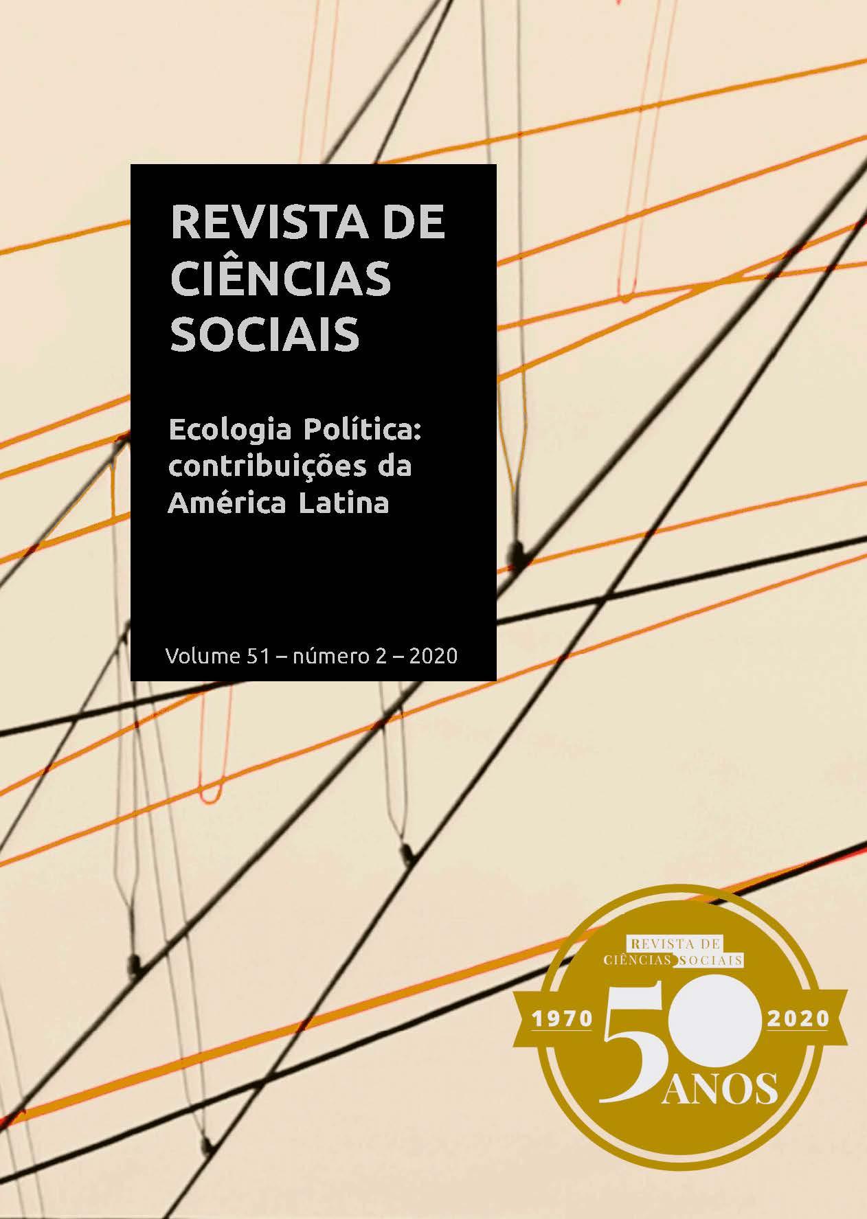 ´Revista de Ciências Sociais - Dossiê Ecologia Política
